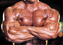 Does this look like a steroid user to you?